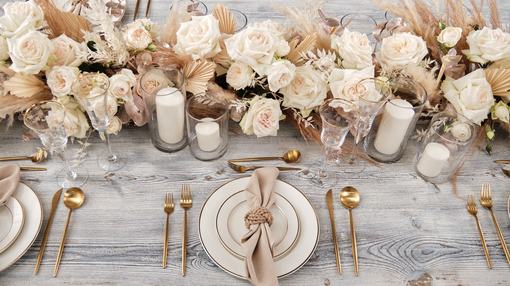 Rustic Style Event Setup
